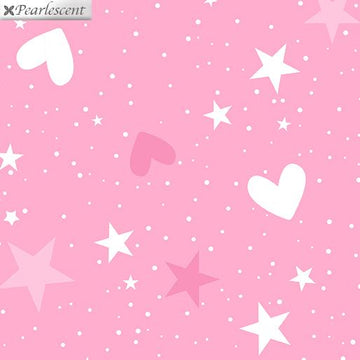 Magical Stars & Hearts Pink