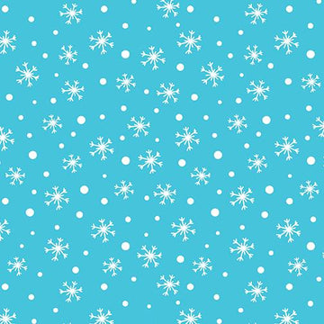 Snow Place Like Home: Snow Daze in Turquoise