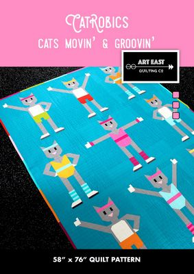 Catrobics - Cats Movin' & Groovin' Quilt Pattern