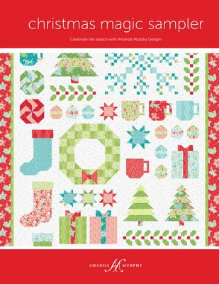 CHRISTMAS MAGIC SAMPLER  - Amanda Murphy