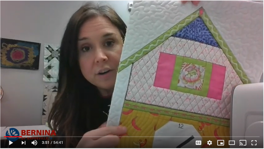 Quilting with BERNINA Domestic Machines: Watch on YouTube