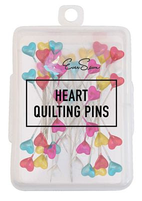 HEART PINS 5.5 CM 100 PC BOX