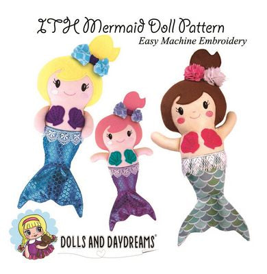 ITH MERMAID DOLL PATTERN