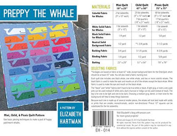 PREPPY THE WHALE - Elizabeth Hartman