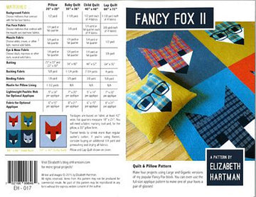 FANCY FOX II- Elizabeth Hartman