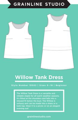 Willow Tank and Dress - Grainline Studios