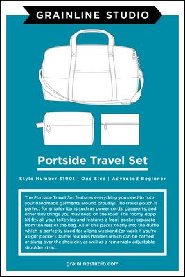 PORTSIDE TRAVEL SET - Grainline Studios