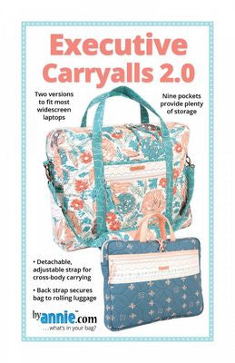 Executive Carryalls 2.0 by Patterns by Annie