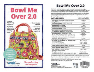 Bowl Me Over 2.0 by Patterns by Annie