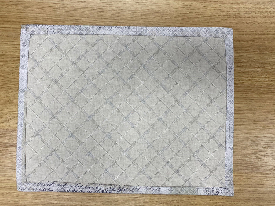 Easy Placemats Online Tutorial