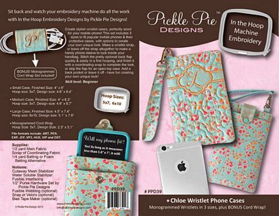 CHLOE WRISTLET PHONE CASES
