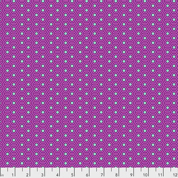 Tula Pink True Colors: Hexy in Thistle