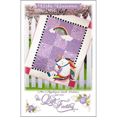 URBI UNICORN QUILT PATTERN