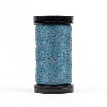 Flash Light Reflective Thread Lake Blue