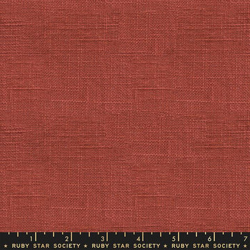 Ruby Star Society Warp Weft Woven in Persimmon
