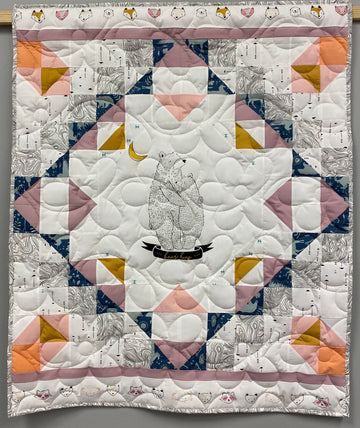 Bear Hug Snuggle Quilt Kit Pattern