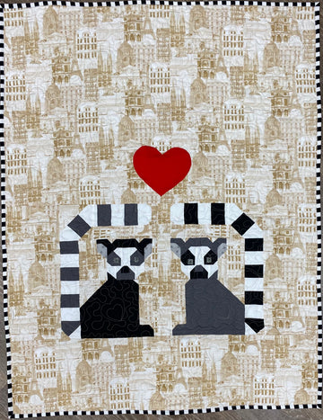 Pattern of the Month: LEMURS IN LOVE