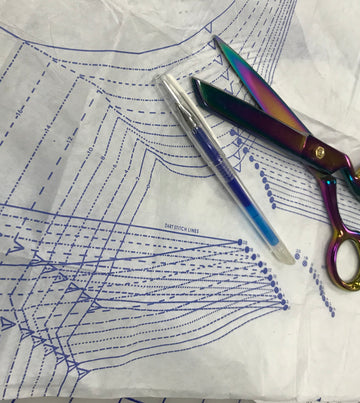 Marking and Sewing Pleats and Darts