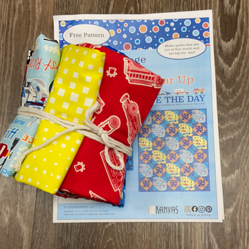 Save the Day Quilt Kit