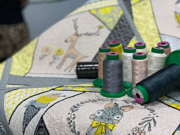Embroidered Crazy Quilt Thread Kit