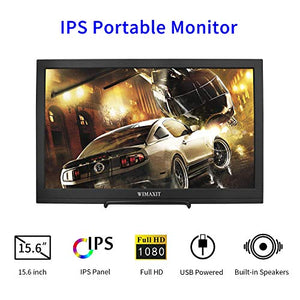 WIMAXIT M1560S Portable HDR Monitor, 16:9 Display Monitor for Xbox/Raspberry PI /PS3/PS4/Switch/PC - Wimaxit Official Store