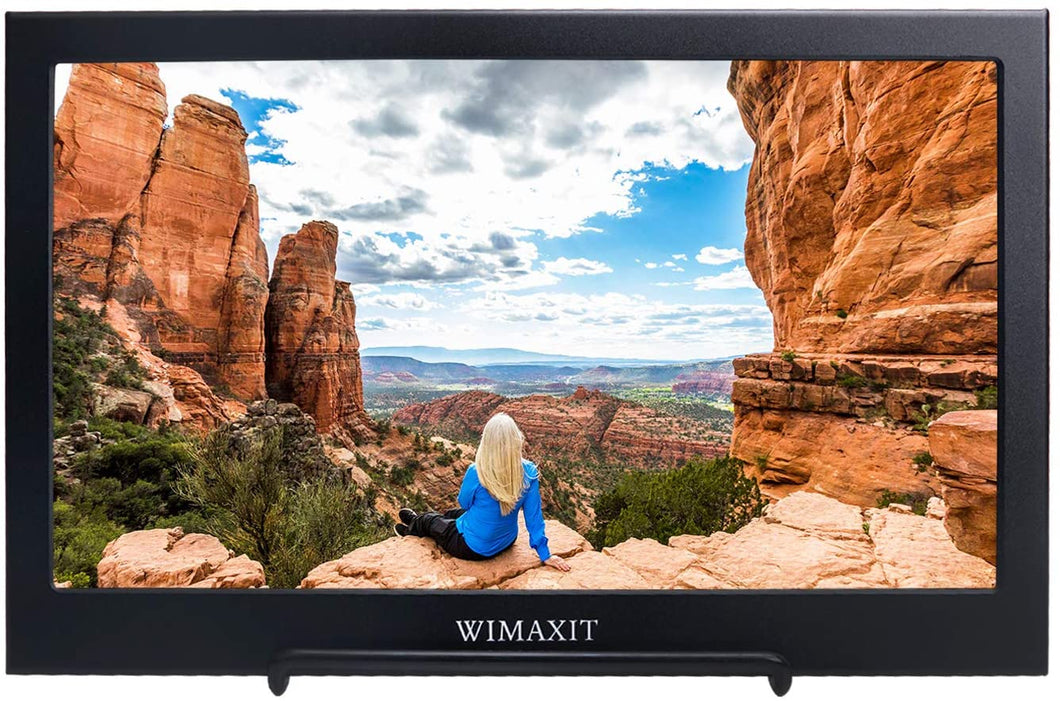 WIMAXIT M1160S Portable Monitor,11.6 Inch 1920X1080 16:9 Display,USB Powered HDMI Monitor Ultra-slim Dual Speakers Screen for PS3/PS4/X box/Raspberry PI/Switch/PC