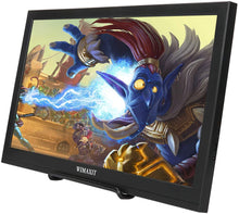 Load image into Gallery viewer, WIMAXIT M1560S Portable HDR Monitor, 16:9 Display Monitor for Xbox/Raspberry PI /PS3/PS4/Switch/PC