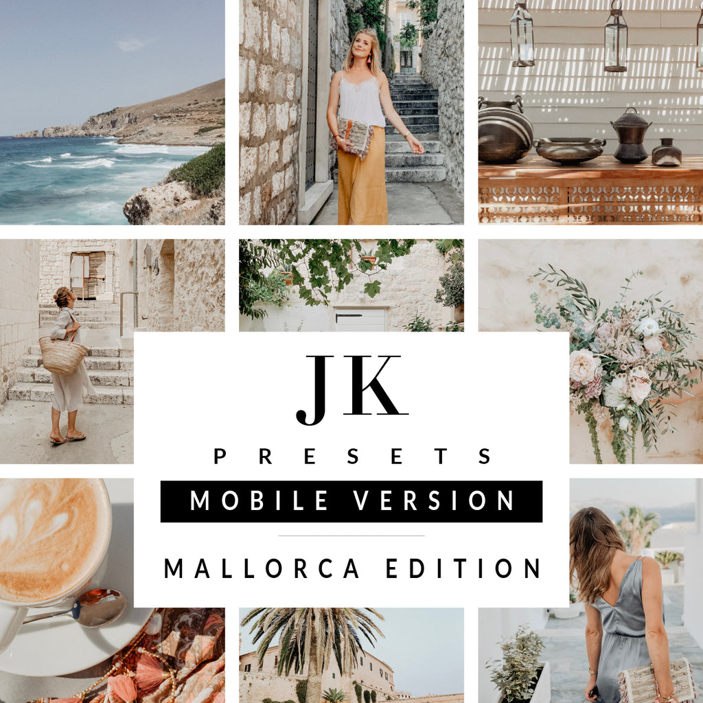 "Lightroom Mobile Presets ""Mallorca Edition"""