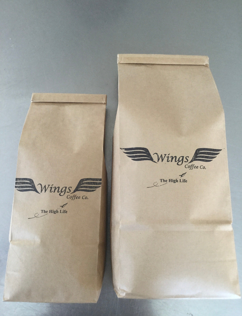 Wings premium hand roasted coffee 500gms
