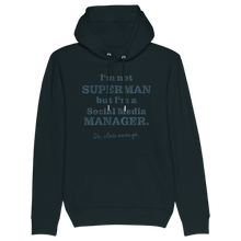 Laden Sie das Bild in den Galerie-Viewer, I'm not Superman but... Hoodie