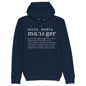 Social Media Manager oder auch... Hoodie