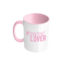 Laden Sie das Bild in den Galerie-Viewer, #contentlover Tasse