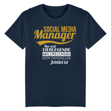 Laden Sie das Bild in den Galerie-Viewer, Social Media Manager Nur Weil... Shirt
