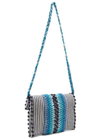 Suni Chelu Blue Clutch & Cross Body Bag