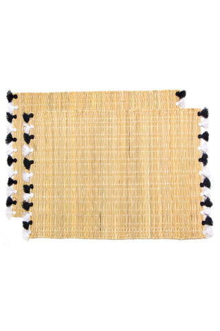 Lola Tassel Placemat Set