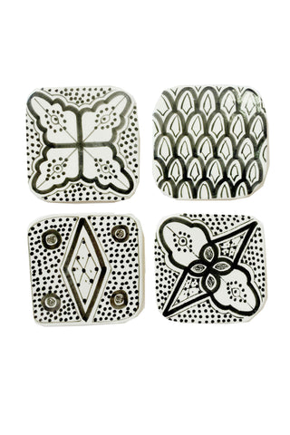 Moroccan Porcelain Coasters
