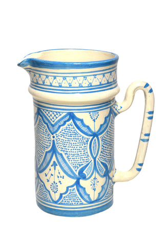 Turquoise Safi Pitcher