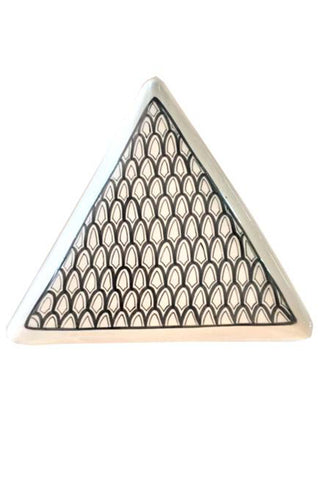 Triangle Porcelain Appetizer Tray