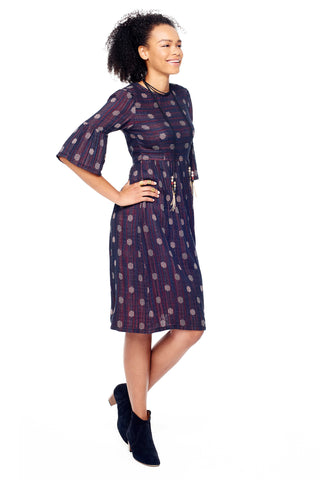 Janis Dress in Biscotti