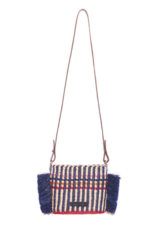 Hana Mini Stripe Shoulder Bag