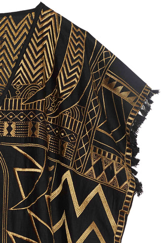 Hausa Embroidered Caftan