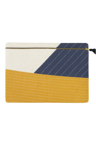 Asha Colorblock Oversized Pouch