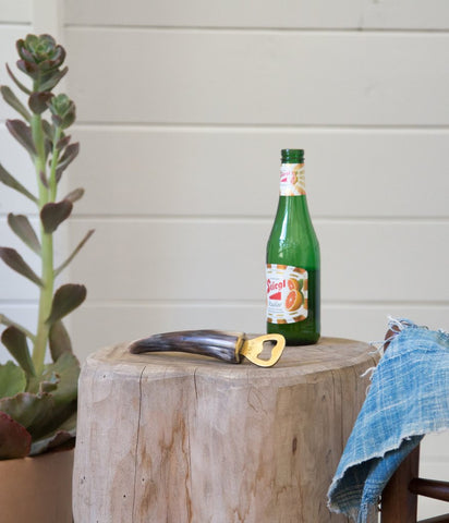 Horn & Brass Bottle Opener