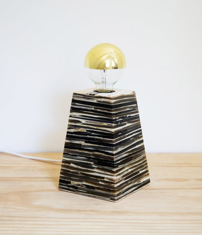 Stacked Horn Lamp