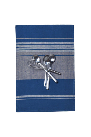 Pooja Indigo Tea Towels