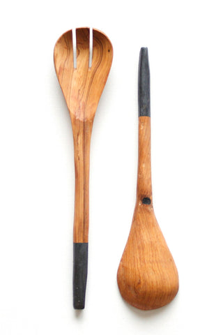 Olive Wood Kuni Utensil Set