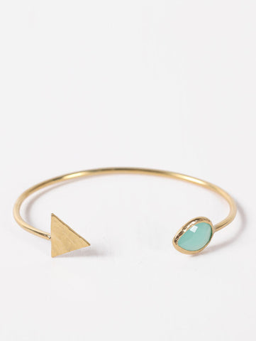 Gold Arrow Cuffs