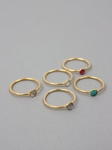 Solo Stacking Ring