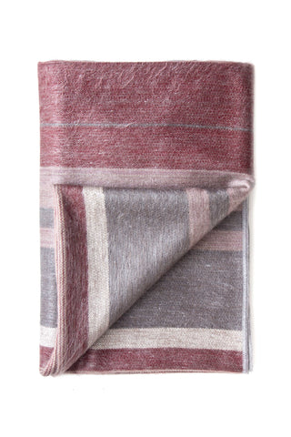 Cognac Alpaca Throw & Blanket