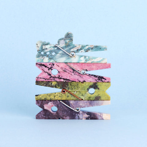 Gemstone Laundry Clip